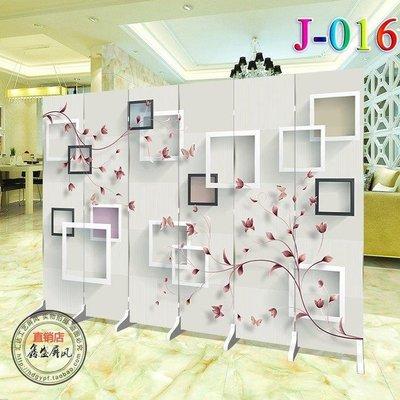哆啦本鋪 屏風隔斷牆北歐簡約現代客廳美容辦公室折疊移動折屏雙面玄關 D655