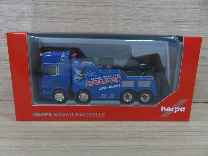 宗鑫貿易 Herpa H311847 Scania Scania R TL Empl Bison 重型拖救車
