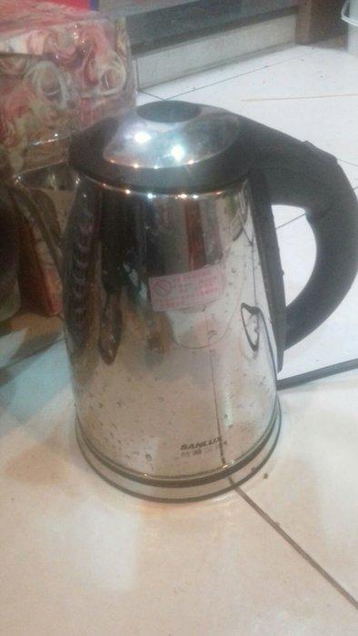 95成新台灣三洋電熱水壺便宜賣優惠超商取貨免運只有一個
