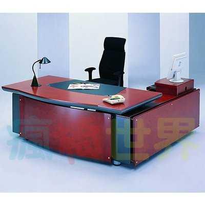 《瘋椅世界》OA辦公家具 全系列 高級木製 主管桌 EN-222 董事長桌/老闆桌/辦公桌/工作桌 需詢問
