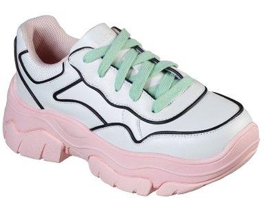 SKECHER明星代言款 女子時尚運動鞋  AMP'D - CITY LIMITS 155038 WLPK