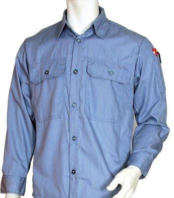 【元山行】工作服、團體制服、電焊衣、西工衣、牛仔衣 、工作襯衫 型號:水藍色S2101