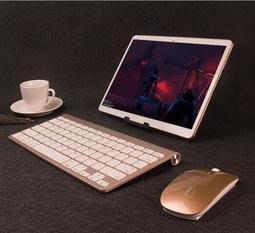 送皮套 ZH906超薄10英吋平板電腦 4G全網通 藍牙 安卓6.0雙卡通話8核 IPS高清屏WIFI GPS 6724