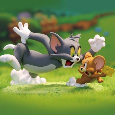貓和老鼠TOM and JERRY日常生活盲盒潮玩動漫手辦禮物擺件*可魯可丫