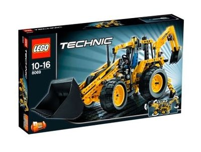 全新 絕版New Lego Technic 8069 Backhoe Loader(有紋)