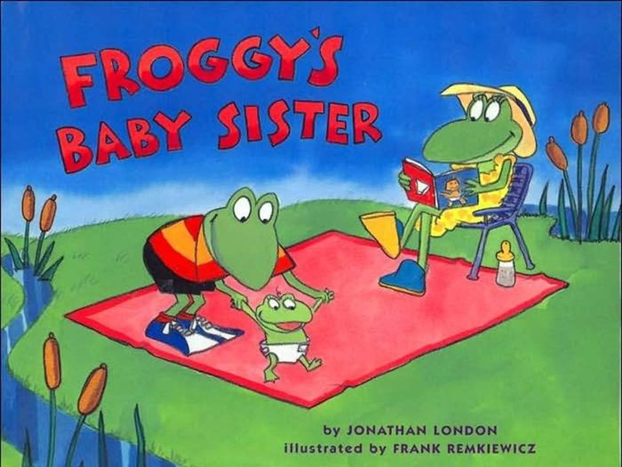 *小貝比的家*FROGGY'S BABY SISTER/平裝書+CD/3~6歲