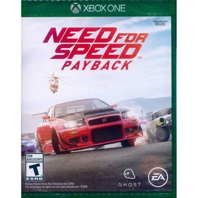 (現貨全新盒損)XBOX ONE 極速快感:血債血償 中英文美版 Need for Speed: Payback