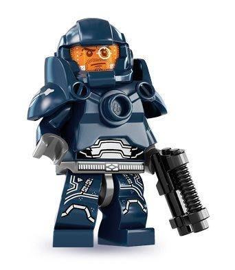 絕版品【LEGO 樂高】玩具 積木/ Minifigures人偶包系列: 7代 8831   太空戰士+武器