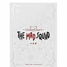 ACE A.C.E 3rd Mini Album 3 Under Cover The Mad Squad 韓國版 CD 訂