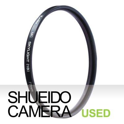 集英堂写真機【1個月保固】中古良品 / KENKO MC SKYLIGHT (1B) 77mm 保護鏡  16408