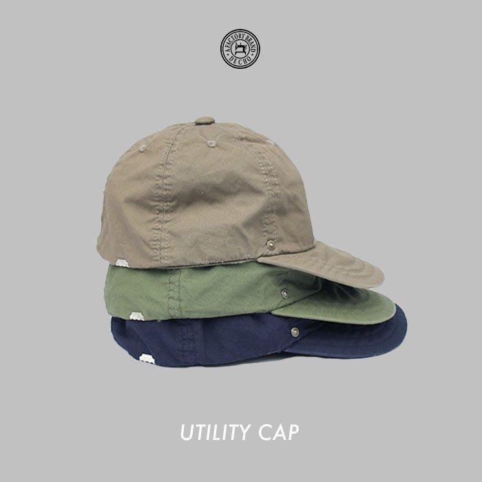 WaShiDa【D-12】DECHO 日本品牌 日本製 UTILITY CAP 短帽簷 帽子 - 預訂