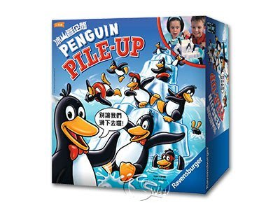 冰山疊企鵝 Penguin pile up 繁體中文版 高雄龐奇桌遊