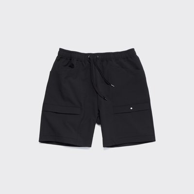 【 WEARCOME 】AUDIENCE MOVE-FIT POCKET SHORTS 日本製 口袋 機能短褲 / 黑色