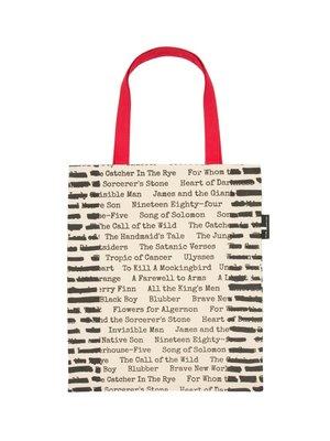 莉迪卡娜~美國Out of Print 史上禁書文學名著 復古帆布包創意文藝單肩包袋