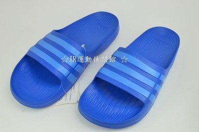☆JR運動休閒館☆Adidas 藍色 運動休閒拖鞋~B44297 新北市