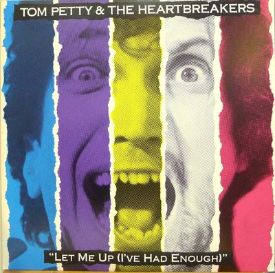 §小宋唱片§日版/TOM PETTY&THE HEARTBEAKERS - LET ME UP/二手西洋黑膠