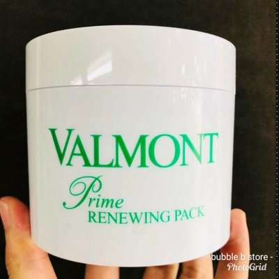 新版 現貨Valmont prime renewing pack 200ml [salon size] #斷貨王 #幸福面膜