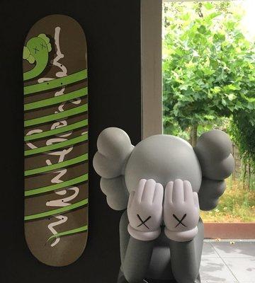 KAWS x Krooked 'Bendy' Skateboard Deck 2005 限量滑板