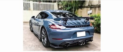 DJD19051622 Porsche 保時捷 718 GT4款 碳纖維尾翼 卡夢 CARBON 依當月報價為準