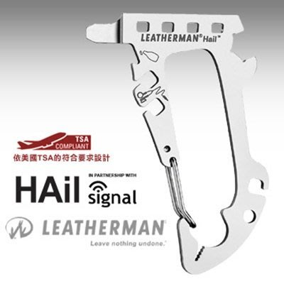 Leatherman HAIL多功能口袋工具#831782【AH13109】99愛買