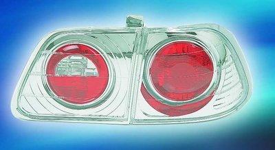 新店【阿勇的店】喜美(CIVIC) 99~00 小改款 K8 4D 晶鑽 4門 仿IS尾燈 honda k8 尾燈