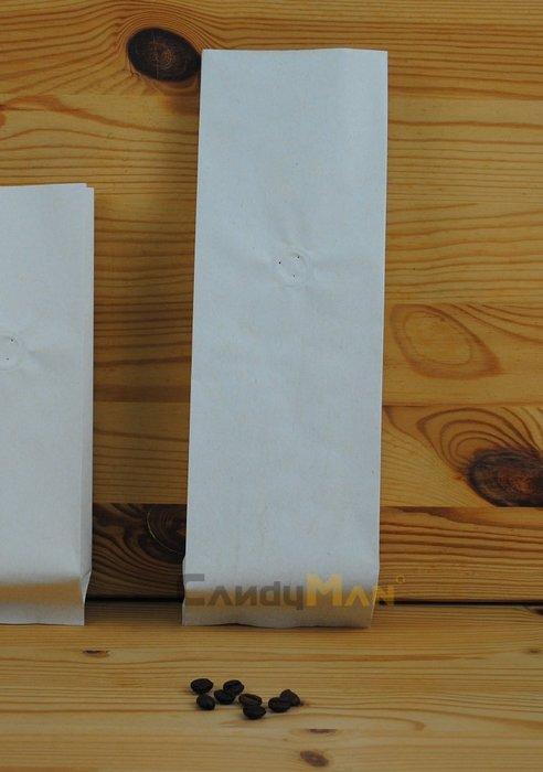 新_NC601L_繁星米白色_空白無印刷_咖啡豆包裝袋_壹磅用_含單向排氣閥 (100入)_CandyMan