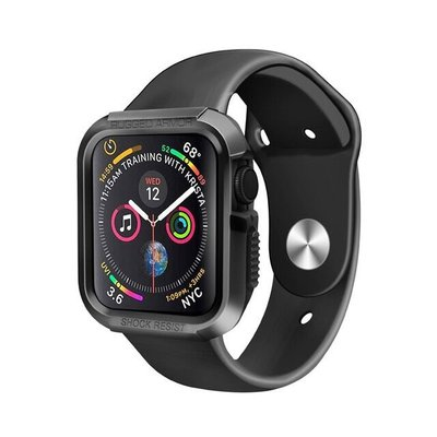 小花精品店-Rugged Armor Apple Watch 4/5蘋果手表殼44mm iwatch40保護殼套