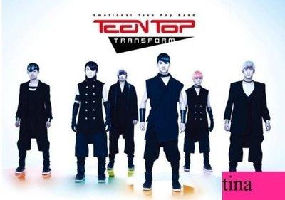 Teen Top韓國原版第二張單曲Teen Top Single Album Vol. 2 - Transform 贈寫真集全新未拆下標即售