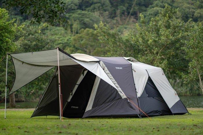 露營小站~【BL-318】威力屋BIG LION 威力屋318 前庭延伸、台灣製造-國旅卡