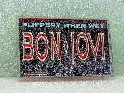 042029》錄音帶》邦喬飛 BON JOVE*SLIPPERY WHEN WET【音癡姐一元起標】
