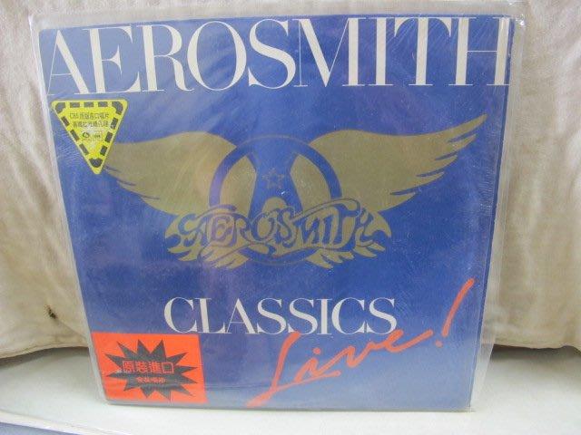 二手舖 NO.3934 黑膠 西洋 Aerosmith 史密斯飛船合唱團 - Classics Live