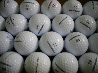 =俊達=   二手高爾夫球   FOREMOST  ESPRESSO A3 .每顆,8.元.共100顆..3層球