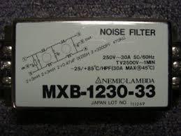PLCMARKET突波吸收器 濾波器 雜訊消除器250V/30A MXB-1230-33 /MBS-1215-22