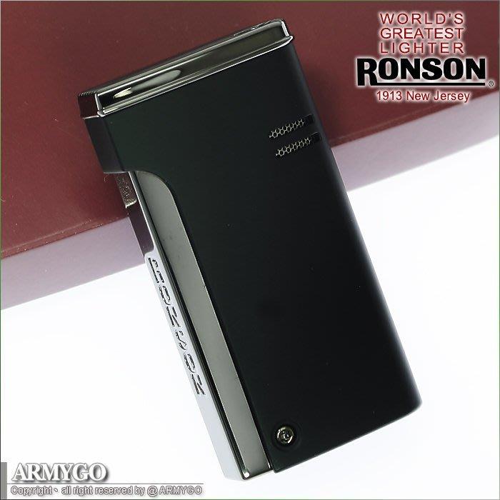 【ARMYGO】日本 RONSON 防風打火機 #R29系列 (黑色款)