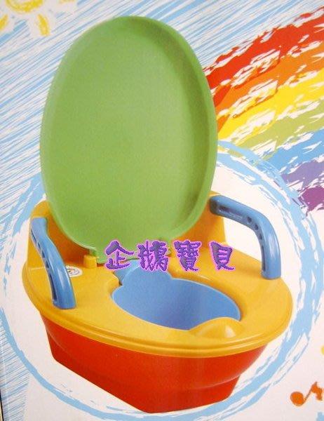 @企鵝寶貝@ 台灣製外銷品~音樂馬桶兩用便器 / 幼兒學習便器