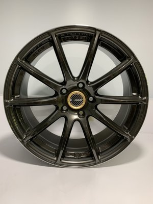 CR輪業 全新 RAVS 57 18吋鋁圈 5/114 亮深灰  完工價:6000 類 RAYS