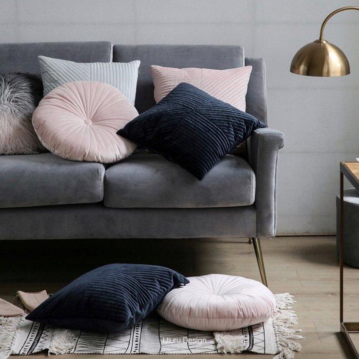 【Uluru】北歐風格 簡約純色 抱枕 純色靠枕 椅墊沙發墊 客廳 Loft工業風 鄉村風 居家裝飾 店面 擺設 裝飾