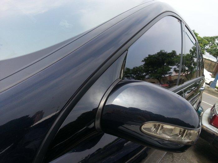 BENZ ML350 窗框貼膜 鍍烙貼膜 水切貼膜 車燈貼膜 內裝貼膜 S~Class G