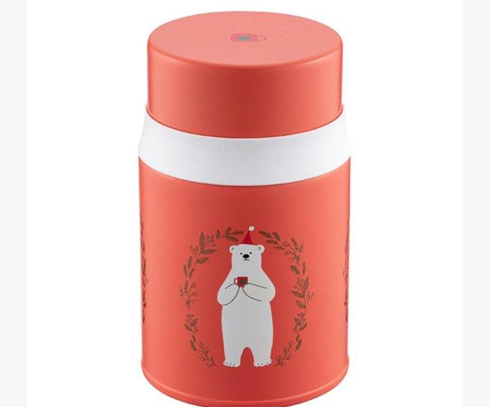 天使熊雜貨小舖~starbucks 星巴克 北極熊祝福餐食罐  520ml  全新現貨