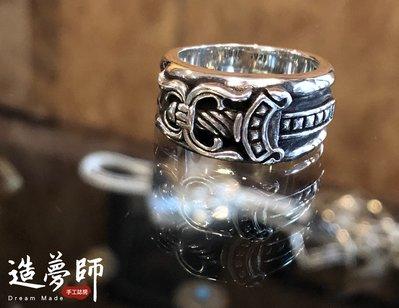 造夢師 手工訂製 【Chrome Hearts】【復刻】克羅心 CH Ring Dagger 經典匕首 925純銀 戒指