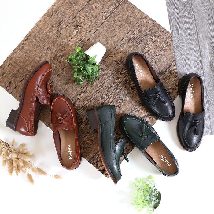 0109牛津鞋 義大利馬鞍皮底 莉莉夫人的後花園 立體楦型樂福鞋 MIT台灣手工 丹妮鞋屋