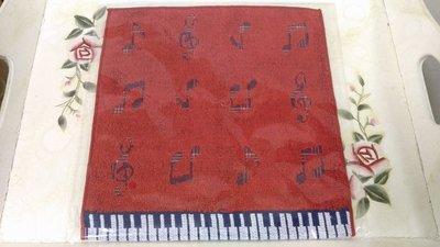 ART&MUSIC 音符 鍵盤 方巾 毛巾帕 日本帶回