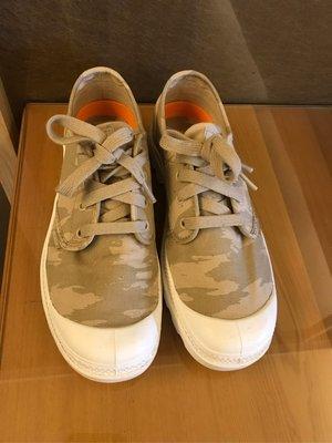 近全新 Palladium 法國軍靴老牌 淺咖啡迷彩色 UK 7號半 休閒鞋 帆布鞋 鞋子 新北市