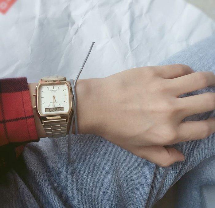 【NoComment】復古時尚的卡西歐電子錶 四色 Casio