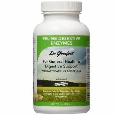 【小虎寵物】Dr. Goodpet益生菌+消化酵素Digestive Enzymes (4 oz/112g) 貓