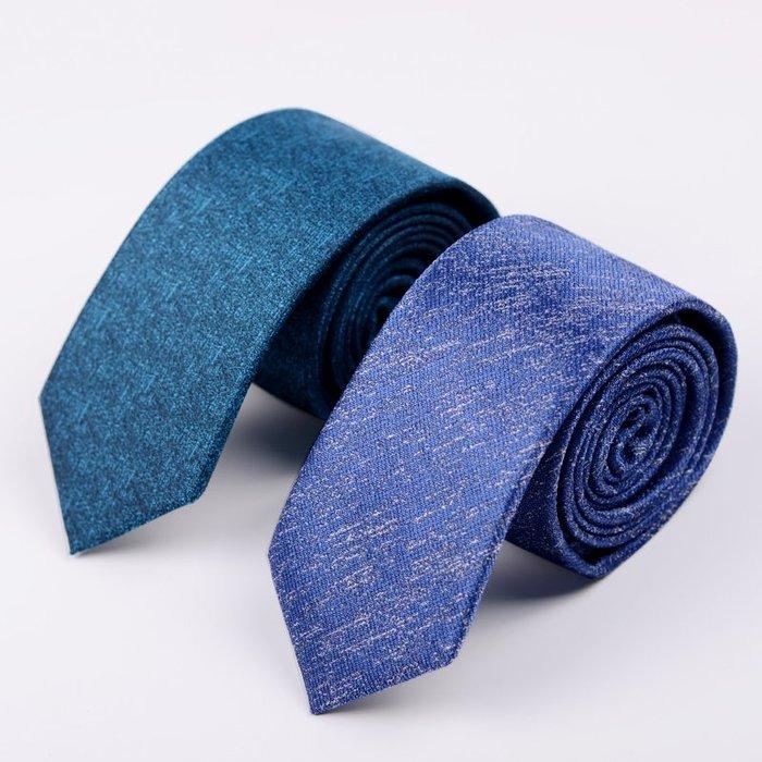 奇奇店-熱賣款 【新款】領帶男士韓版正裝商務 6CM窄款英倫潮休閑學生藍色小領帶