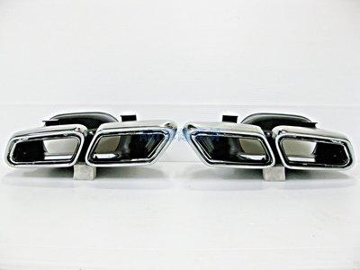 ~~ADT.車燈.車材~~BENZ W212 AMG E63 E200 E250 E350 白鐵尾管 排氣管 尾飾管