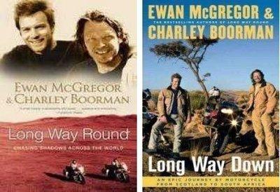 {書} 原文書 伊旺麥奎格 越界20000哩~ 2個人2部摩托車的冒險 Long Way Round / Down