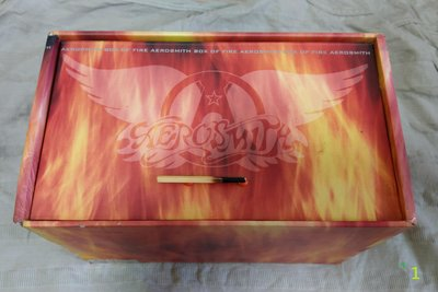 Aerosmith 史密斯飛船 (空中铁匠) Box of Fire 1盒 13片CD