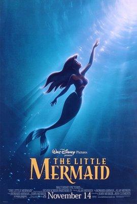 小美人魚-The Little Mermaid(1989)原版電影海報